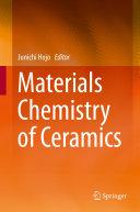 Materials Chemistry of Ceramics Pdf/ePub eBook