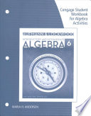 Student Workbook for Aufmann/Lockwood's Introductory and Intermediate Algebra: An Applied Approach