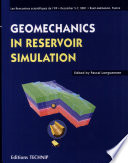 Geomechanics in Reservoir Simulation