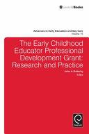 The Early Childhood Educator Professional Development Grant