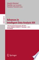 Advances in Intelligent Data Analysis XIII Book