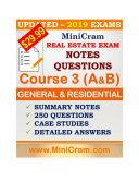 MiniCram OREA Exam Course 3A & B Pdf/ePub eBook