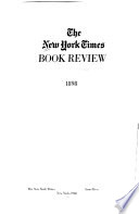 New York Times Saturday Review of Books and Art  , Band 3