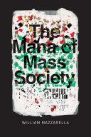 The Mana of Mass Society Pdf/ePub eBook
