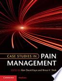 Case Studies In Pain Management Book PDF