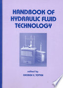 Handbook of Hydraulic Fluid Technology