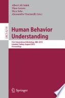 Human Behavior Understanding