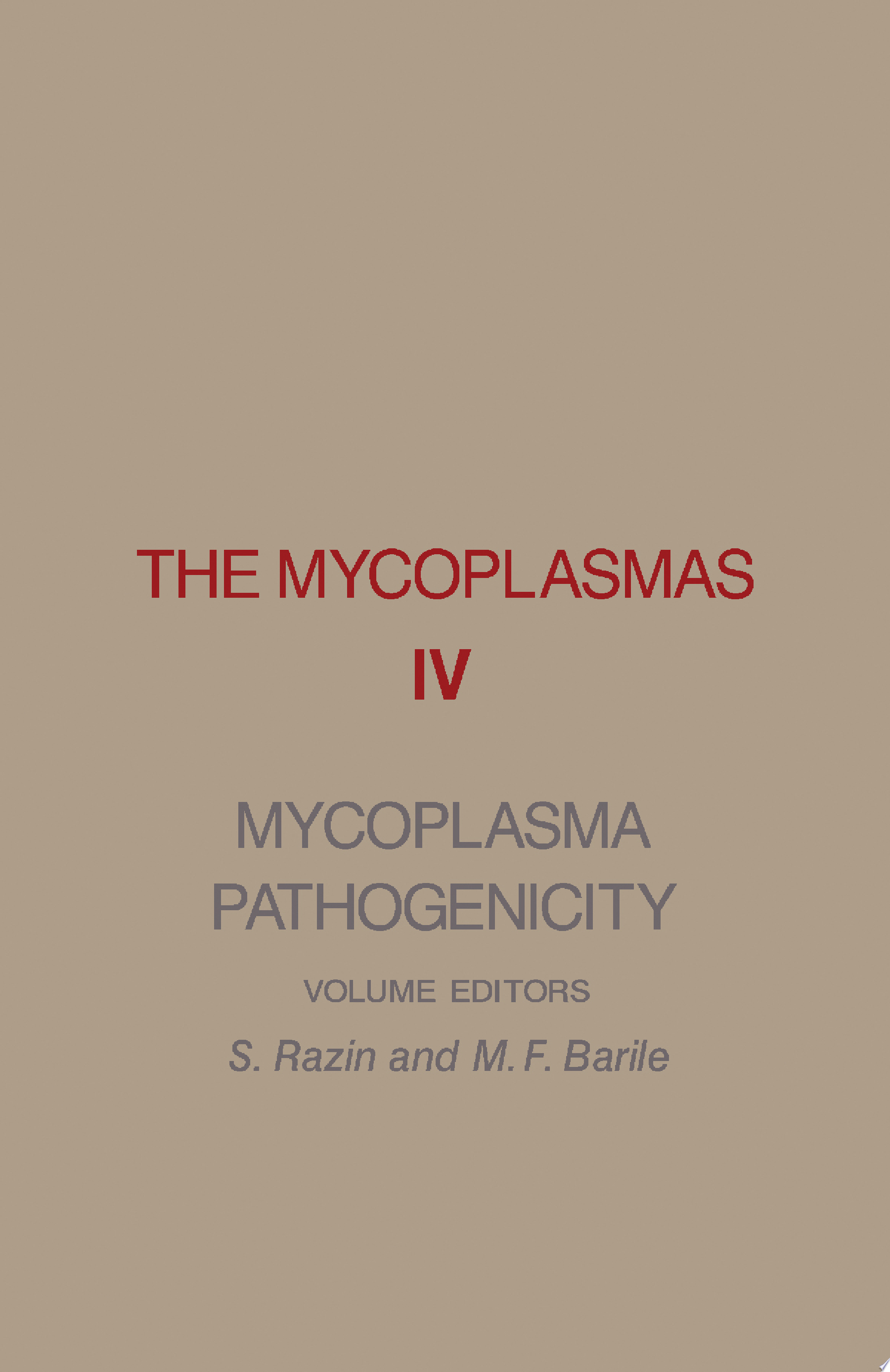 Mycoplasma Pathogenicity
