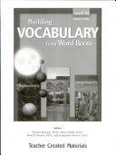 Building Vocabulary  Level 10 Kit