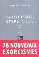 Exorcismes spirituels