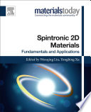 Spintronic 2D Materials