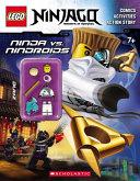 Lego Ninjago: Ninja Vs. Nindroid Activity Book (with Minifigure)