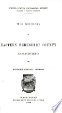 The Geology of Eastern Berkshire County, Massachusetts