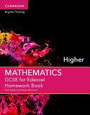GCSE Mathematics for Edexcel Higher Homework Book