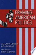 Framing American Politics Book PDF