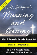 C H  Spurgeon s Morning and Evening Word Search Puzzle Book  4  6x9