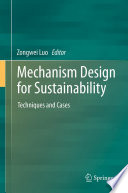 Mechanism Design for Sustainability Book