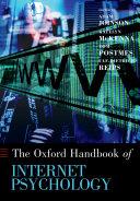 Oxford Handbook of Internet Psychology [Pdf/ePub] eBook