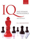 Cover of IQ and Human Intelligence