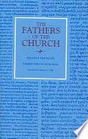 Commentary On Zechariah The Fathers Of The Church Volume 111