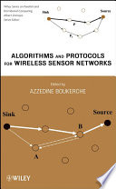 Algorithms and Protocols for Wireless Sensor Networks