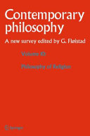 Volume 10: Philosophy of Religion