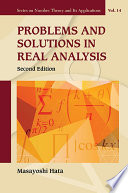 Problems and Solutions in Real Analysis Book
