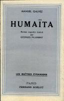 Pdf HUMAITA Par MANUEL GALVEZ Telecharger