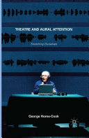 Pdf Theatre and Aural Attention Telecharger