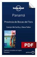 Panamá 1_8. Provincia de Bocas del Toro