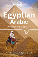 Lonely Planet Egyptian Arabic Phrasebook   Dictionary