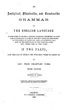 An Analytical  Illustrative  and Constructive Grammar of the English Language