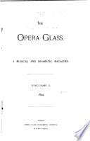 The Opera Glass Book PDF
