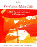 Developing Helping Skills   Dvd Book