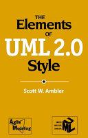 The Elements of UMLTM 2 0 Style