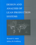 Design And Analysis Of Lean Production Systems Book PDF