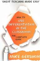 How to Use Differentiation in the Classroom Book