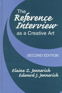 The Reference Interview as a Creative Art Book