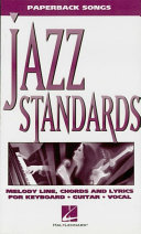 Pdf Jazz Standards (Songbook) Telecharger