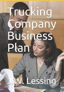 Trucking Company Business Plan