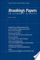 Brookings Papers On Economic Activity Fall 2010 Book PDF