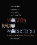 Modern Radio Production  Production Programming   Performance