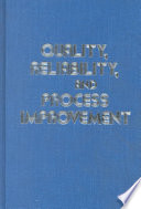 Quality Reliability And Process Improvement Book PDF
