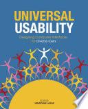 Universal Usability