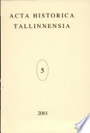 2001 - Vol. 5