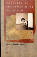 Cultures of Transnational Adoption