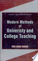 Modern Methods Of University And College Teaching