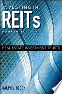 Cover of Investing in REITs