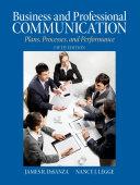 Business & Professional Communication