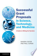 Successful Grant Proposals in Science, Technology and Medicine
